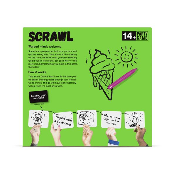 Scrawl party game