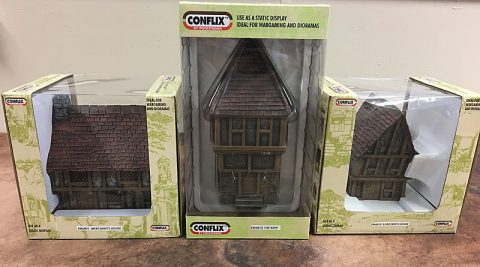 Conflix wargaming scenery review