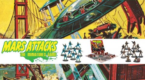 Mars Attacks Miniatures Game Review