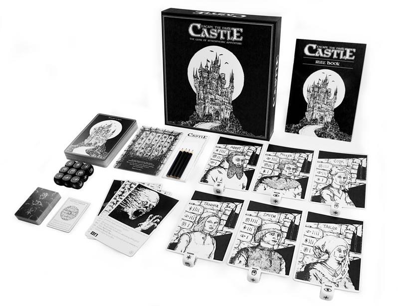 Escape the Dark Castle contents