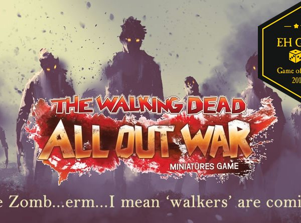The Walking Dead All Out War tabletop game review