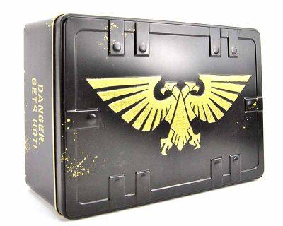 Warhammer 40K Imperium Embossed Tool Box