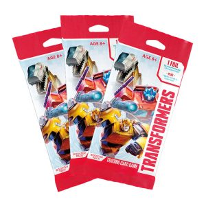 Transformers trading card game booster packs