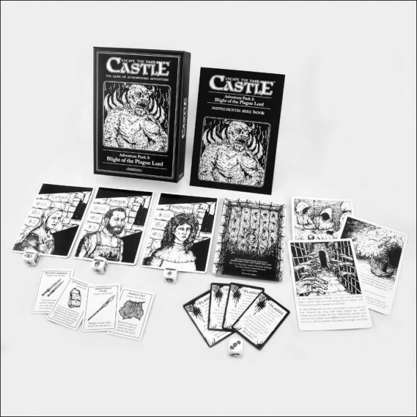 Escape The Dark Castle Expansion Pack - Blight of the Plague Lord