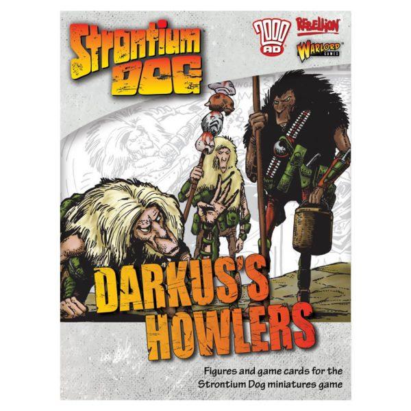 Darkus's Howlers Strontium Dog Miniatures Game