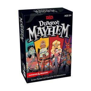 dungeon & dragons dungeon mayhem card game