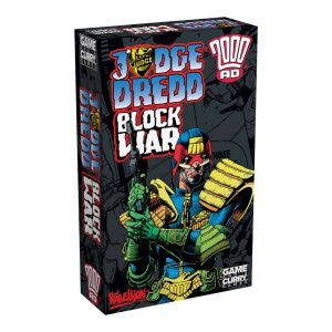 Judge Dredd Block War card game