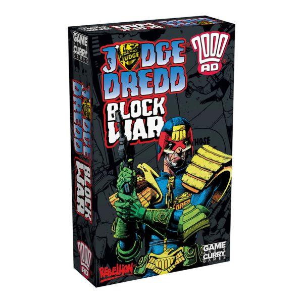 Judge Dredd Block War card game