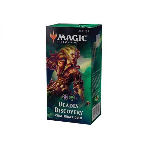 Magic the Gathering 2019 challenger decks black green deadly discovery