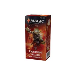 magic the gathering 2019 red lightning aggro challenger deck