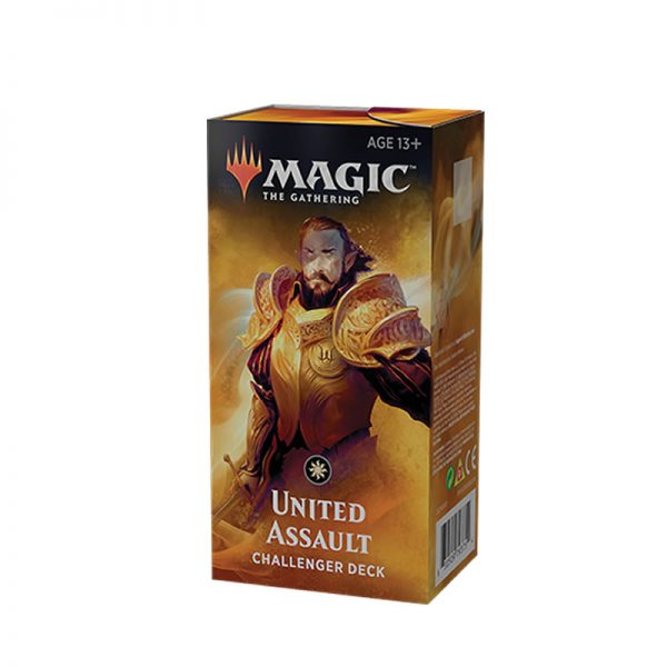 magic the gathering 2019 white united assault challenger deck