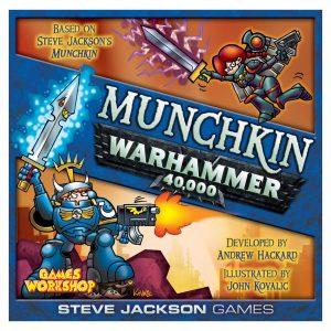 Munchkin Warhammer 40,000 game