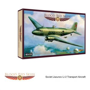 Soviet Liszunov Li-2 Transport Aircraft for Blood Red Skies