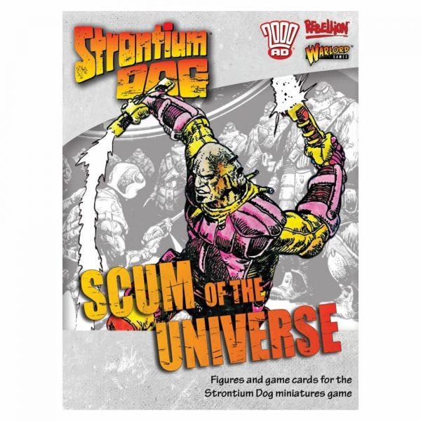 Strontium Dog Miniatures Game Scum of the Universe