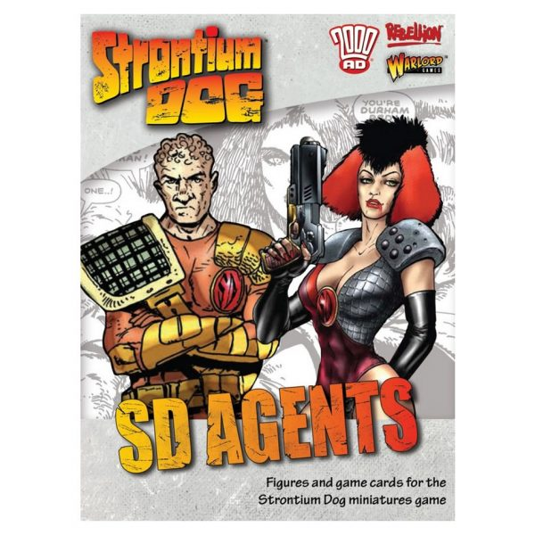 Strontium Dog miniatures game SD Agents expansion