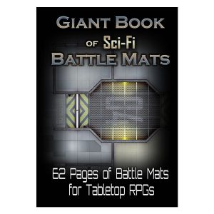 The Giant Book of Sci-Fi Battle Mats