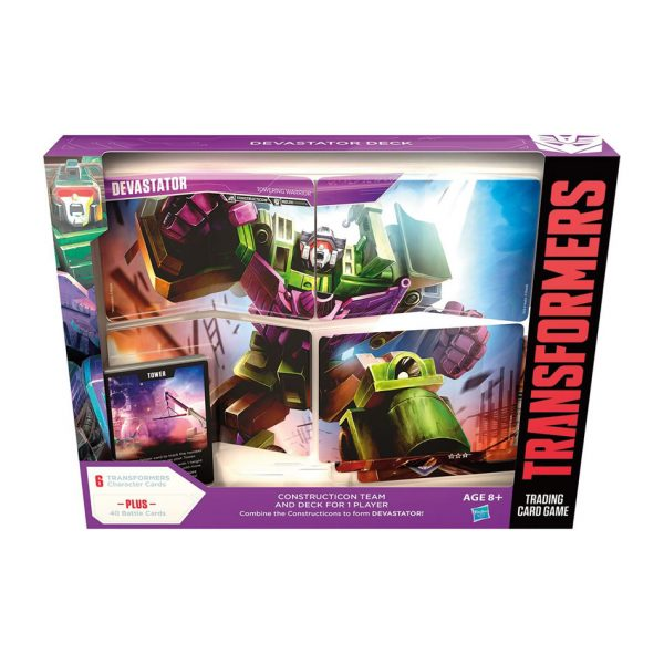Transformers trading card game Devastator Deck
