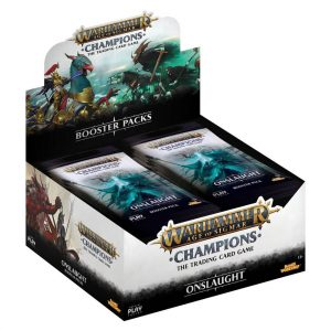 Warhammer Age of Sigmar Champions Wave 2 Onslaught booster box