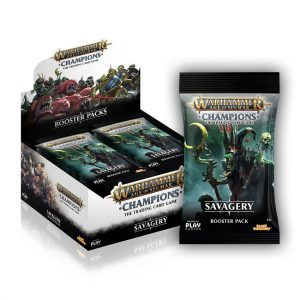 Warhammer Age of Sigmar Wave 3 Savagery Booster Box