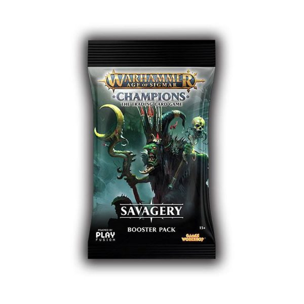 Warhammer Champions Savagery Booster Pack