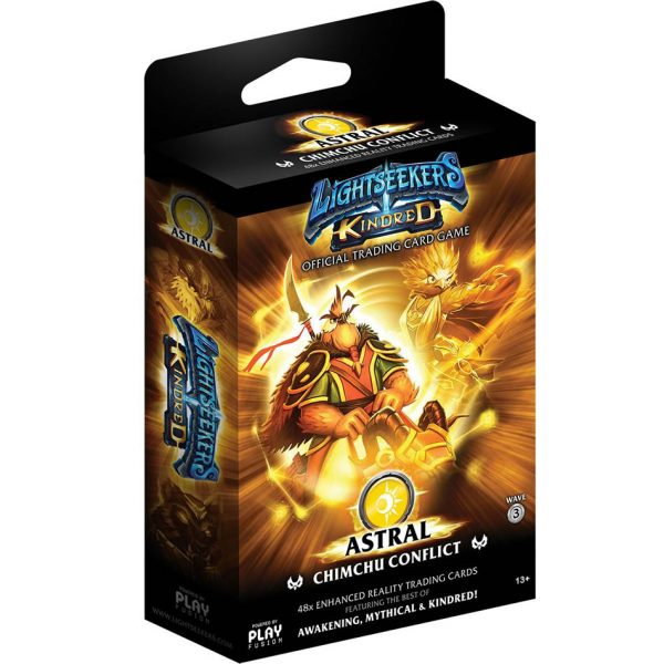 Lightseekers TCG Kindred Astral Chimchu Conflict Deck