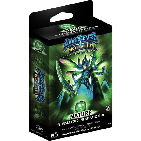 Lightseekers TCG Kindred Nature Insectoid Infestation Deck