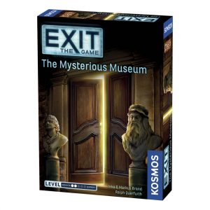 The Mysterious Museum Exit escape room game by Kosmos