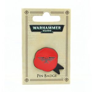Warhammer 40k Purity Seal enamel pin badge
