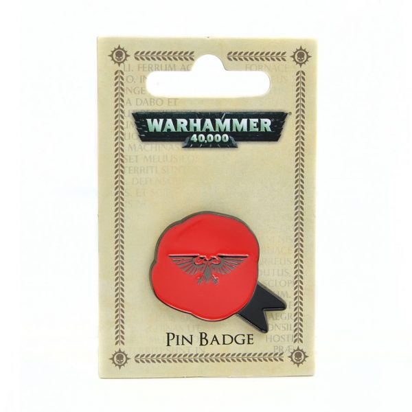Warhammer 40k Purity Seal enamel pin badge