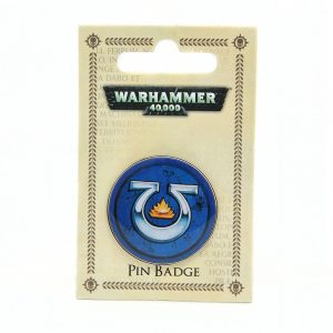 warhammer 40k ultramarines enamel pin badge