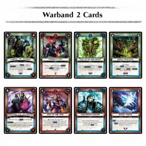 Warhammer Age of Sigmar Champions warband series 2 cards
