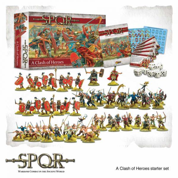 SPQR A Clash of Heroes Starter Set