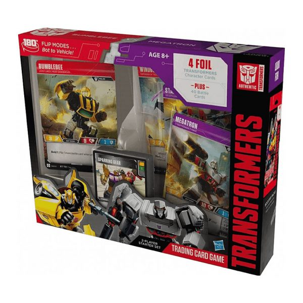 Transformers TCG Bumblebee vs Megatron starter set