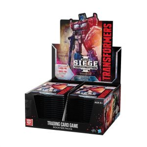 Transformers Trading Card Game Siege 1 War For Cybertron Booster Box