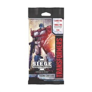 Transformers TCG War For Cybertron Siege 1 Booster Pack