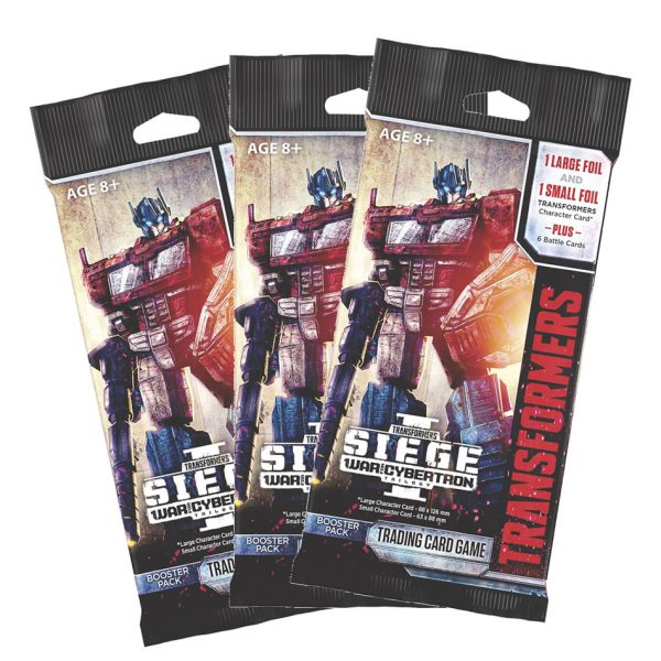 Transformers TCG War For Cybertron 3 booster pack bundle