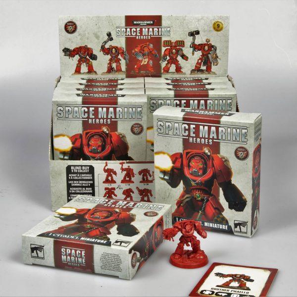 Space Marine Heroes Series 2 Display Box