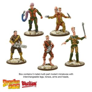Strontium Dog Miniatures Game Build a Mutie
