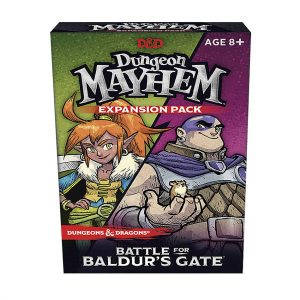 Dungeons & Dragons Dungeon Mayhem Battle for Baldur's Gate Expansion