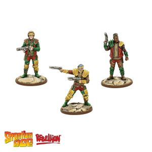 Strontium Dog miniatures game Goons