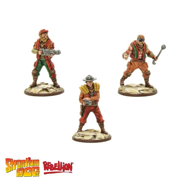 2000AD Strontium Dog Miniatures Game Wasters