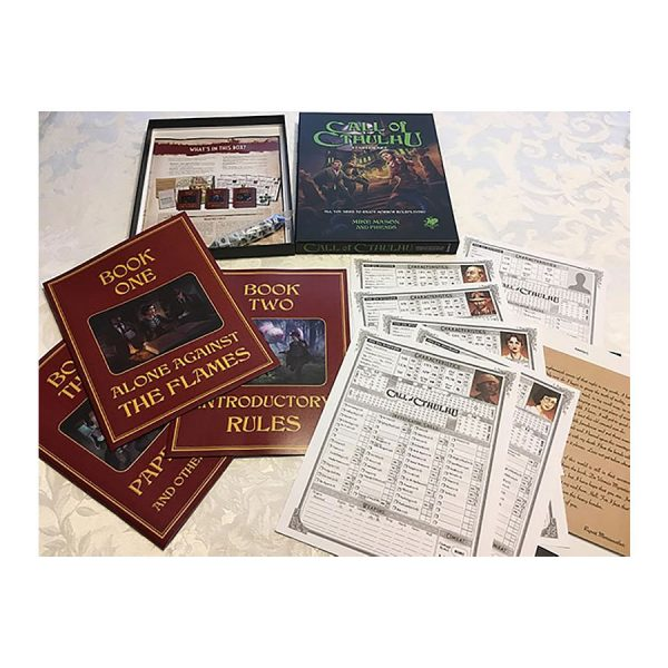 Call of Cthulhu rpg starter set contents
