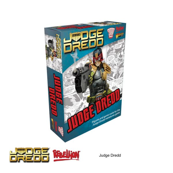 Judge Dredd miniatures expansion