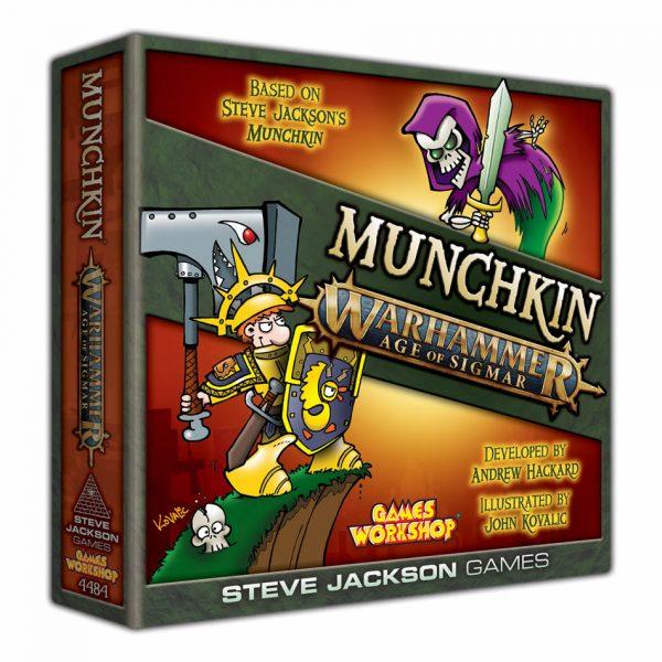 munchkin warhammer age of sigmar game