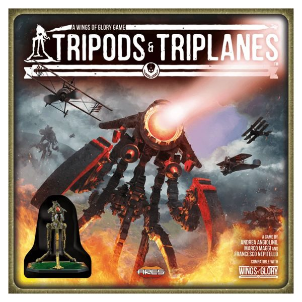 wings of glory tripods and triplanes starter set