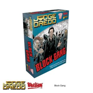 lock Gang expansion pack Dredd miniatures game