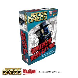 Denizens of Mega City One Expansion Pack