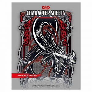 Dungeons & Dragons RPG Character Sheets