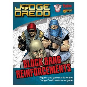 Judge Dredd Miniatures Game Block Gang Reinforcements
