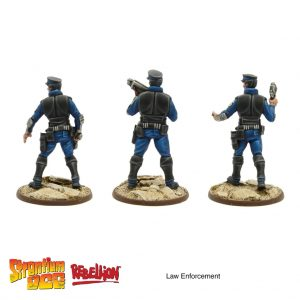 law enforcement officers strontium dog miniatures game